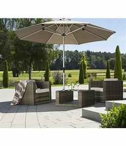 Sonnenschirm 350 Cm : schneider sonnenschirm monaco 350 cm granitgrau dehner ~ Markanthonyermac.com Haus und Dekorationen