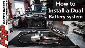 Diy Dual Battery Install - Landcruiser 70 Series V8