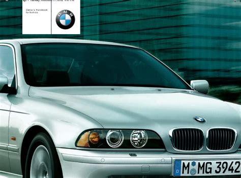 motor auto repair manual 2001 bmw 525 user handbook repair manuals bmw e39 2001 owners manual