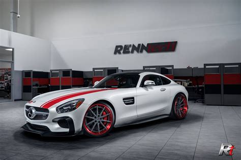 renntech  details amg gt  project car carscoops