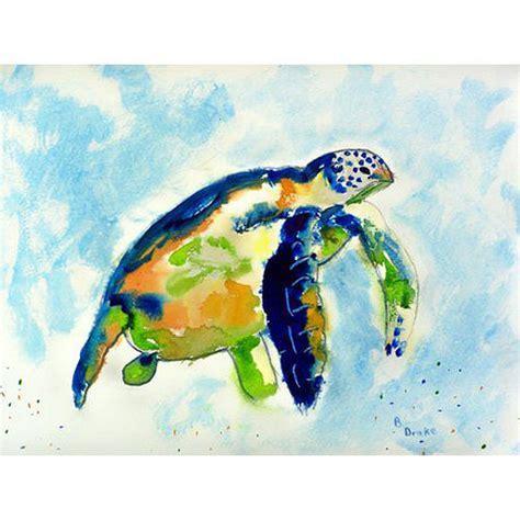 Turtle Doormat by Blue Sea Turtle Door Mat