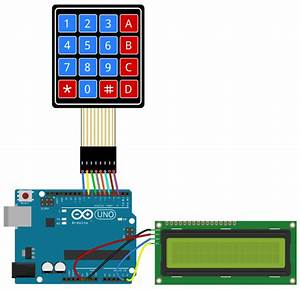 Arduino Lesson  U2013 4 U00d74 Matrix Keypad  U00ab Osoyoo Com