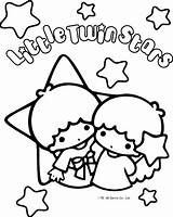 Coloring Twin Stars Pages Sanrio Fanpop Star Colouring Kitty Hello Kawaii Characters Printable Stationery Sheets Space Adult Twins Stickers Melody sketch template
