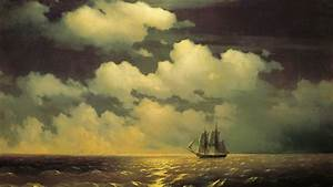 ivan, aivazovsky, , artwork, , painting, , classical, art, , water