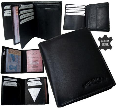 geldbeutel herren leder portemonnaie herren echt leder geldb 246 rse geldbeutel portmonee brieftasche pv12 ebay