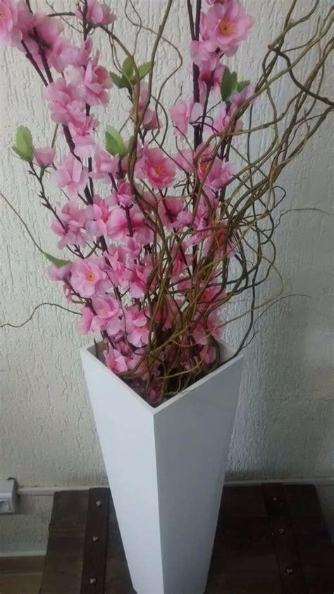 arranjo de chao decorativo flores artificiais bonito