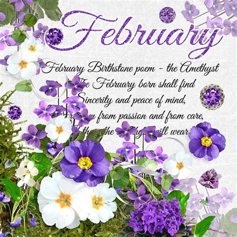 february colors what is february birthstone color and flower monthly