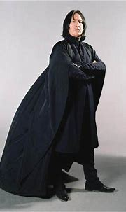 Alan Rickman as Severus Snape in the HARRY POTTER movies ...
