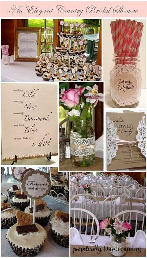 For A Bridal Shower by The Country Bridal Shower Perpetually Daydreaming