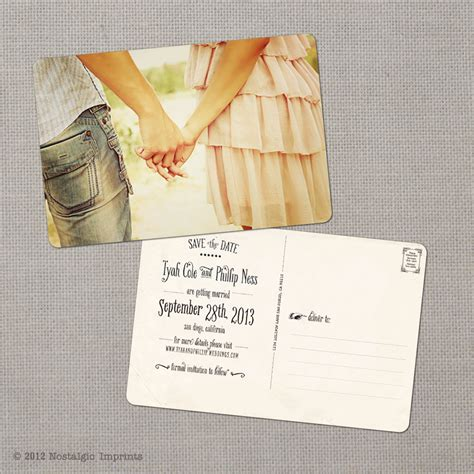 Shop Save The Date Postcards Magnetstreet Party