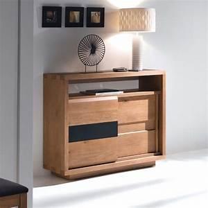 Meuble D Entrée : meuble d 39 entr e oslo meubles de normandie ~ Teatrodelosmanantiales.com Idées de Décoration