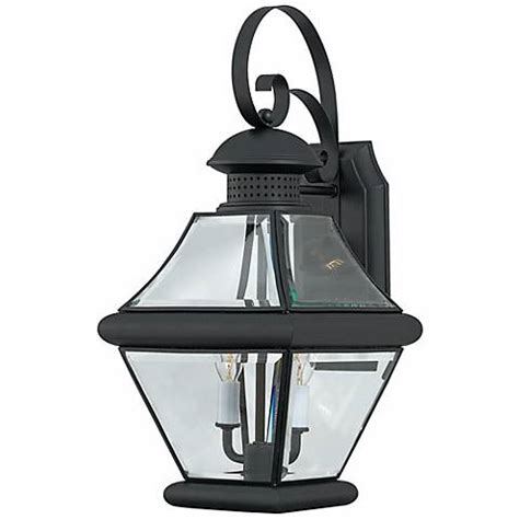 rutledge collection black 19 quot high outdoor wall light