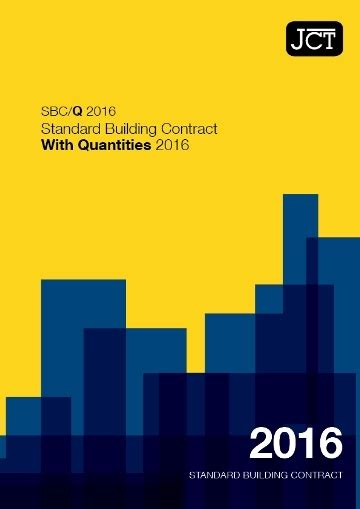 standard building contract  quantities