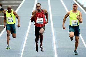Usain Bolt runs his slowest 100m final ever; Brazil TV ...