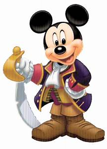 Mickey Mouse clipart captain - Pencil and in color mickey ...