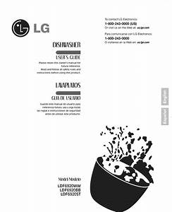 Lg Ldf6920st User Manual Dishwasher Manuals And Guides