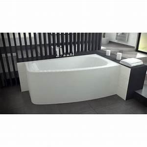 Baignoire Avec Tablier : baignoire luna baignoire design mobilier salle de bain ~ Premium-room.com Idées de Décoration