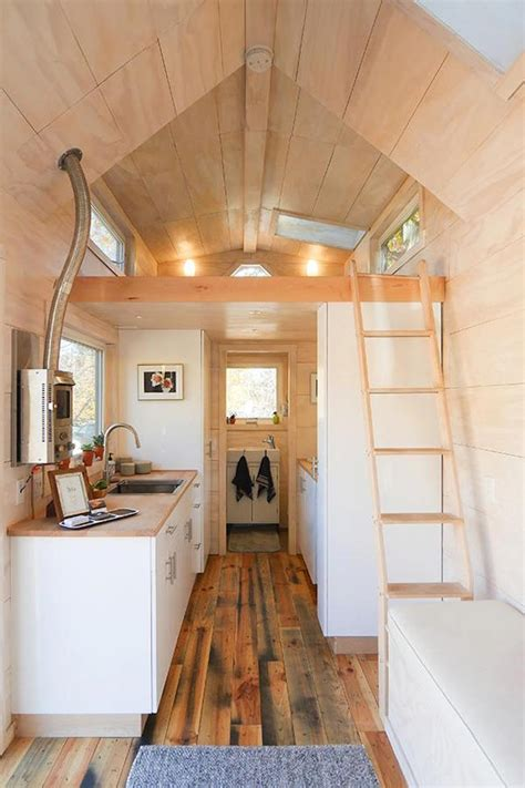 170 Square Foot Woodpaneled Tiny House