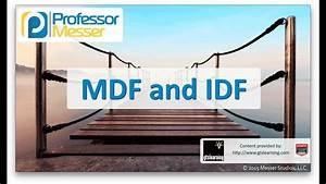 Mdf And Idf - Comptia Network  N10-006 - 5 7