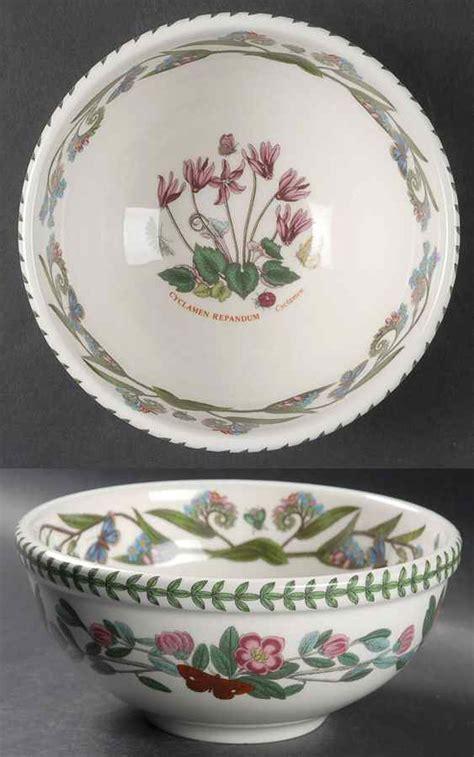 portmeirion botanic garden bowls portmeirion botanic garden cyclamen salad serving bowl