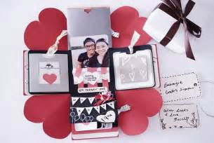 personalized wedding scrapbook diy birthday exploding box card sweetheart