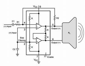 ncs2211 typical application reference design audio power With low power circuit