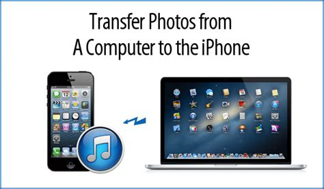 how to send from iphone to computer how to transfer photos from computer to iphone or