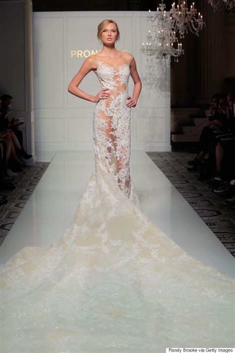 sexy wedding dresses naked   hottest trend