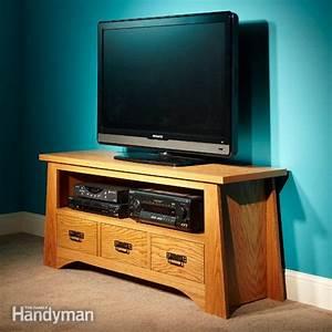 DIY TV Stand The Family Handyman