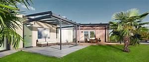 Terrassenüberdachung Aus Stoff : ein kalter wintergarten wird durch unser dachsystem zum blickfang ~ Markanthonyermac.com Haus und Dekorationen
