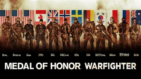 medal  honor warfighter tier  special forces wallpapers
