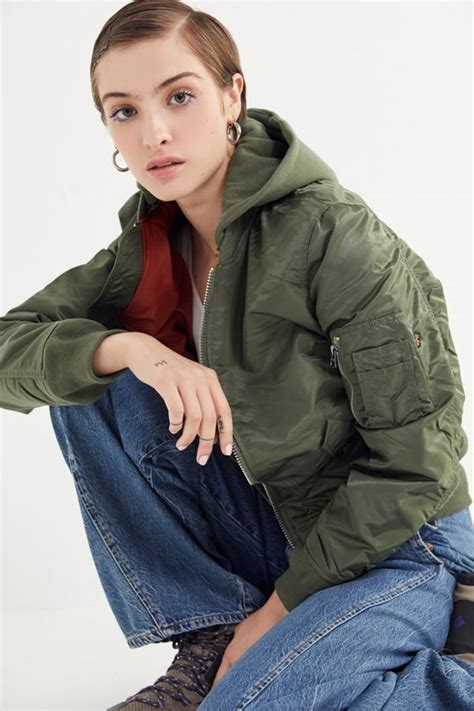 alpha industries ma  natus bomber jacket urban outfitters
