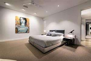 Beleuchtung Für Schlafzimmer : led deckenbeleuchtung luxuri ses einfamilienhaus in australien ~ Markanthonyermac.com Haus und Dekorationen