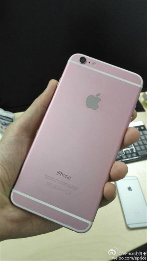 iphone 6 plus pink here s what the apple iphone 6 plus looks like in pink
