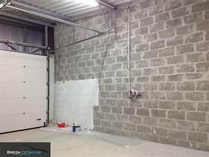 peinture sur parpaing brut meilleures images d With escalier exterieur metallique leroy merlin 15 mur en gabion