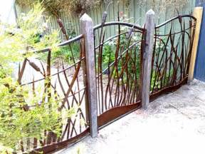 image detail for metal garden fence and gate decorative metal garden gates