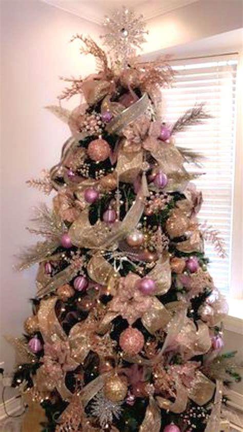 pink christmas tree decorations splendid pink christmas