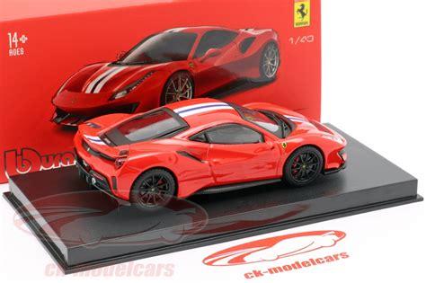 Welly 1:24 porsche 959 red diecast model sports racing car new in box. Bburago 1:43 Ferrari 488 Pista Baujahr 2018 corsa rot metallic 18-36910 Modellauto 18-36910 ...