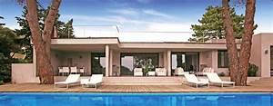 maison des iles moderne toit plat With lovely maison toit plat en l 10 photo de maison provencale contemporaine toit plat