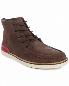 Lacoste Zinder Srm Brown Suede Boots in Brown for Men ...
