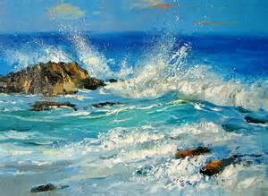 Caribbean Sea Painting