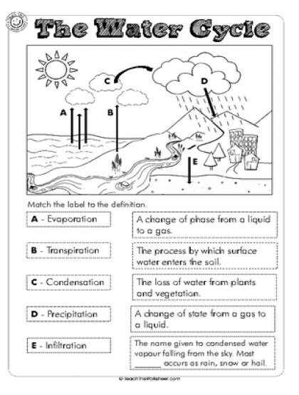 free water cycle worksheets for 4th grade images of water cycle water cycle worksheet middle for