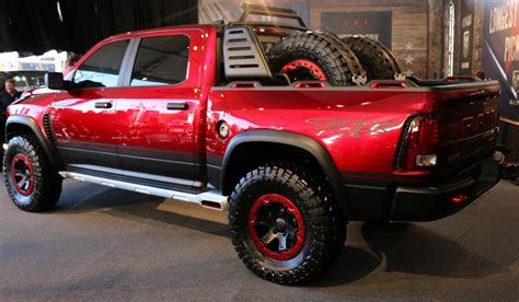 The Ram Rebel Trx Concept Is Over The Topand I Want One