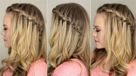 How To Do A Waterfall Braid First Choice Haircutters Lakeland Fl Long In The Front Short Back Haircut Price Of A At Supercuts Whoodle Haircuts Racheal Tris Scene Hipster Mens Circle Diagram
