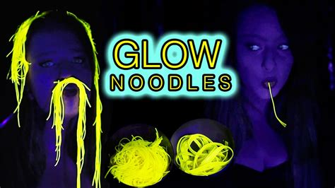 2 pi鐵es cuisine how to glow in the uv noodles diy tutorial food ideas