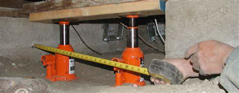 Home Depot Floor Leveling Jacks by Dondi Leveling The Tiny House With Cinder Blocks And