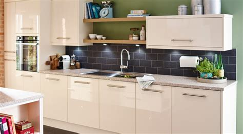 cooke and lewis kitchen cabinets cooke lewis high gloss kitchen contemporary 8327