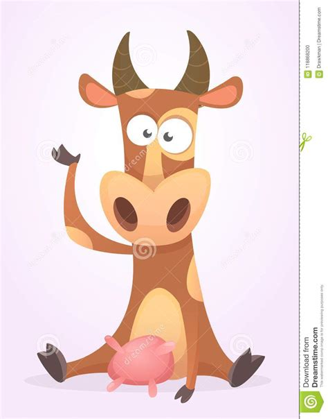 This place is for anything, and we mean anything, involving animal hilarity. Funny Cartoon Cow Character Isolated On White Background ...
