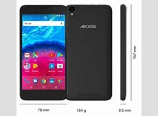 ARCHOS Core 55 4G, Smartphones Darstellung