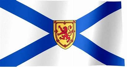 Nova Scotia Flag Waving Flags Canada Halifax